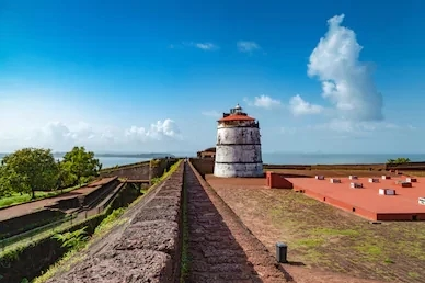 Fort Aguada is one of the popular forts in Goa. A magnificent fort in Goa.