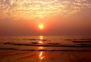 Juhu beach of Mumbai