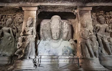Elephanta are the best caves in Mumbai