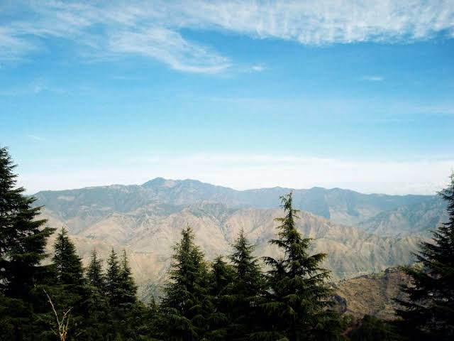 Lal Tibba mountain one of the must visit place in Mussorrie