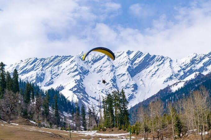 Solong Valley in Manali