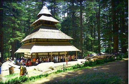 Hidimba temple of Manali