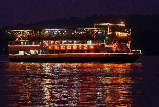 Cruise ship paradise of Goa
