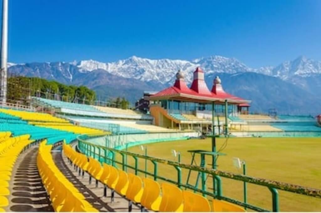 Most famous stadium of Dharamshala