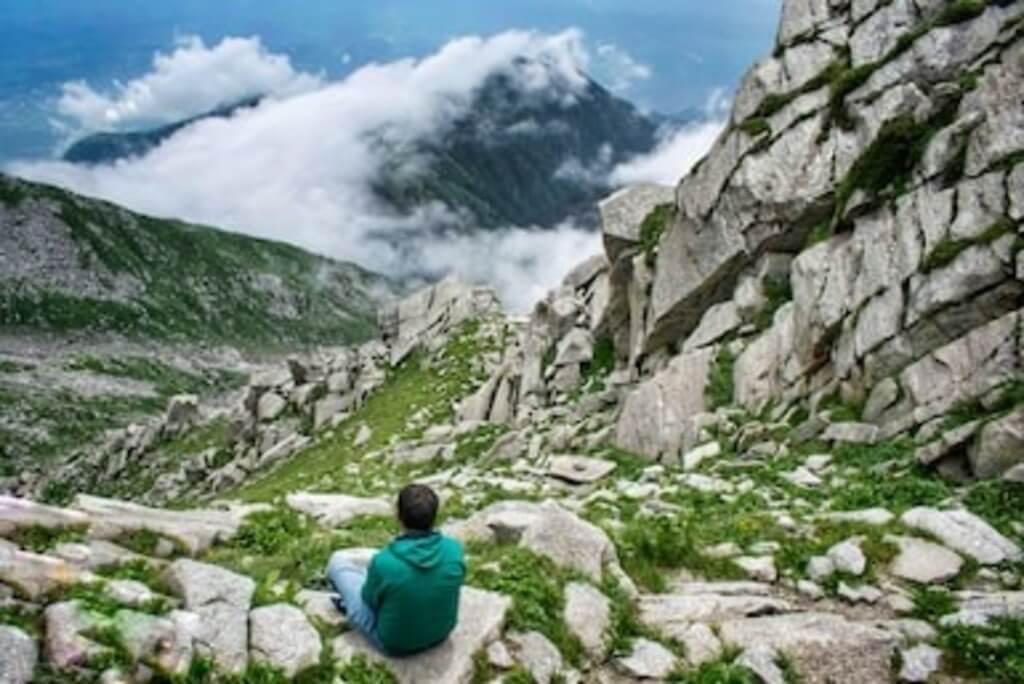 Trek place in Dharamshala