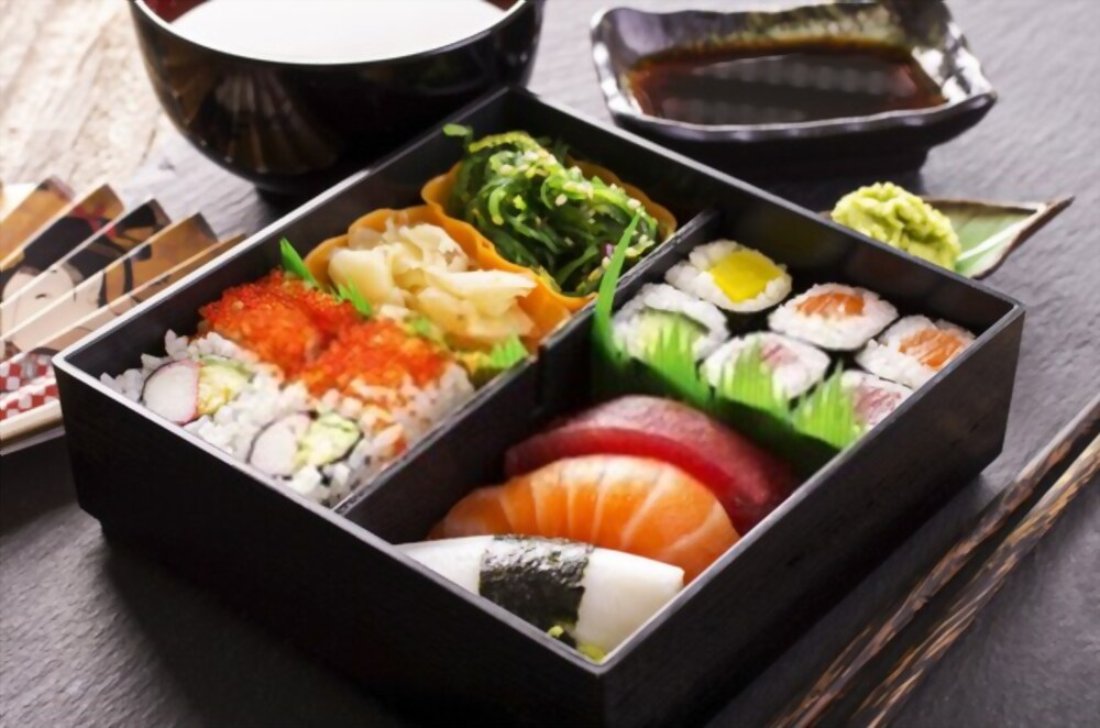 Japanese sushi. Sushi is one of the best food in the world.