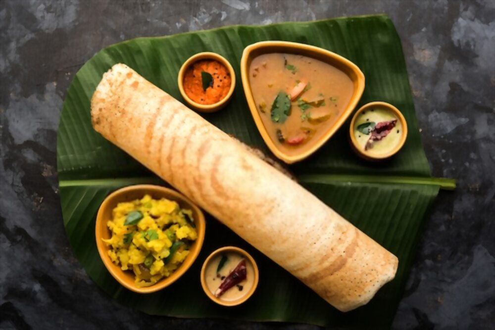 Dosa of India. Top food in the world.
