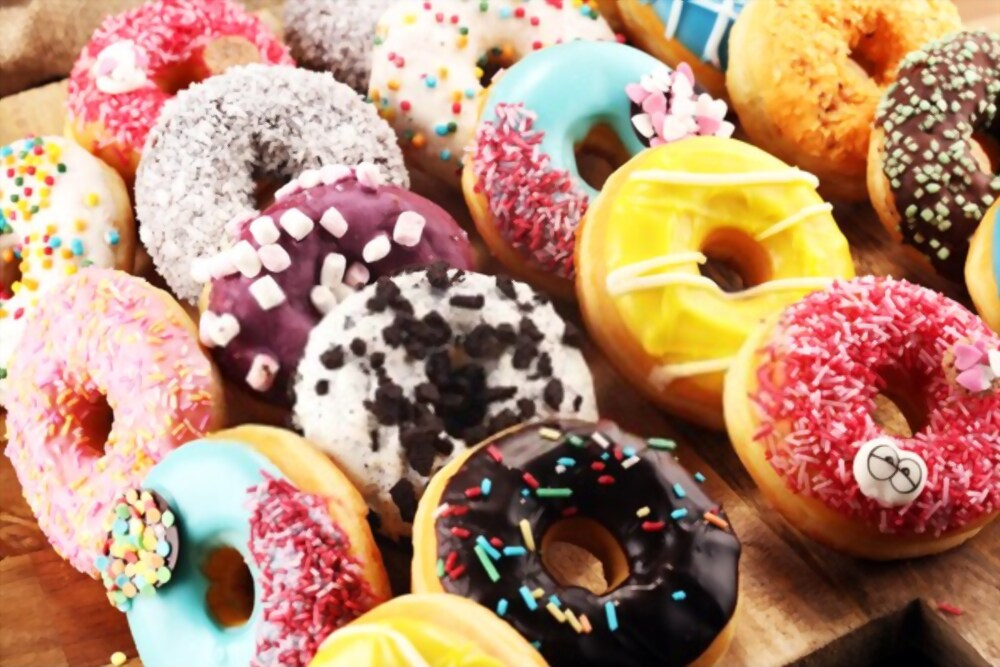 Donuts are top sweet dish in the world. One of the must try food in the world.