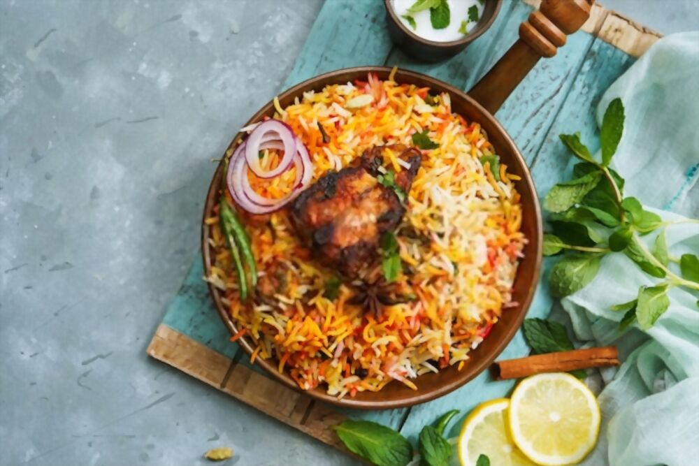Biryani India is one of the must try food in the world.