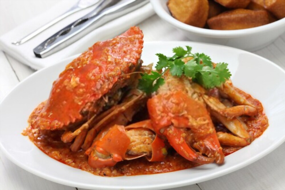Crabs are Food in Singapore for sea food lovers