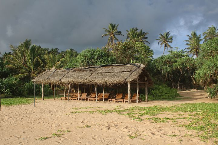 Bentota beach is one of the best place for couples in Sri Lanka