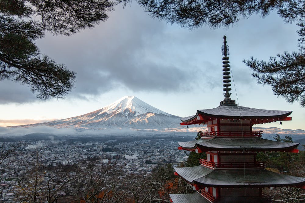 Mt. Fuji is extremely beautiful mountain in Japan. One of the best place in Japan for all.