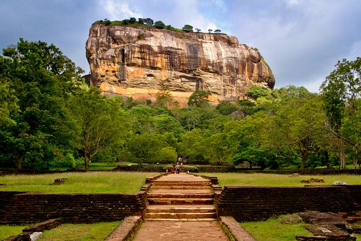 Sigiriya fort is top attraction in Sri Lanka.