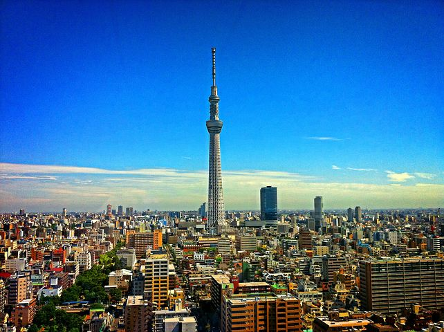 Tokyo Tower is the best place in Japan for Tourists.