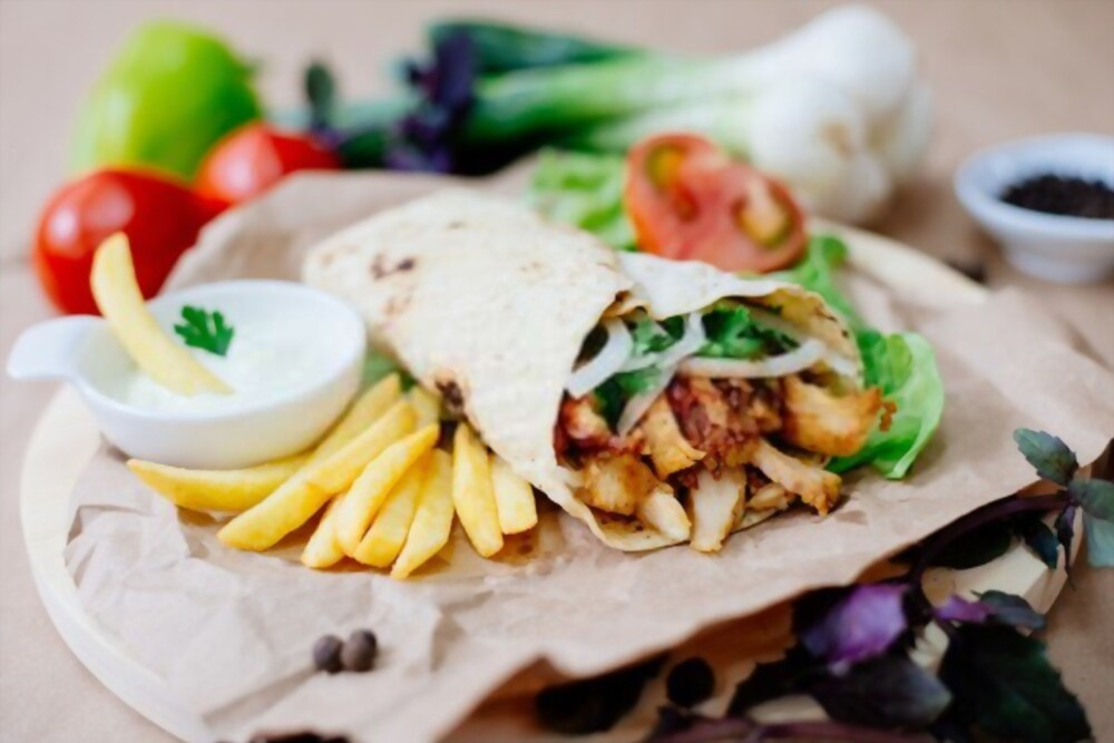 Shawarma is one of the tasty food in Delhi