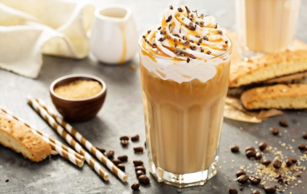 Iced coffee, Cooling drink in Summer