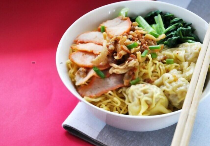 Wanton Mee, best dry noodles in Singapore