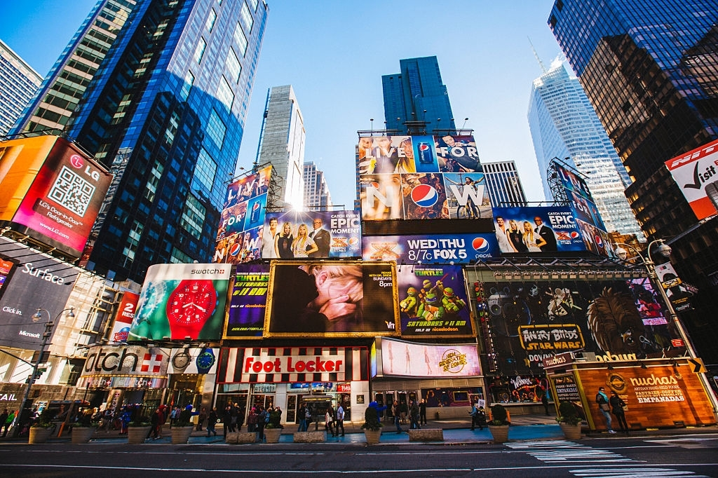 Most famous attractions in New York City