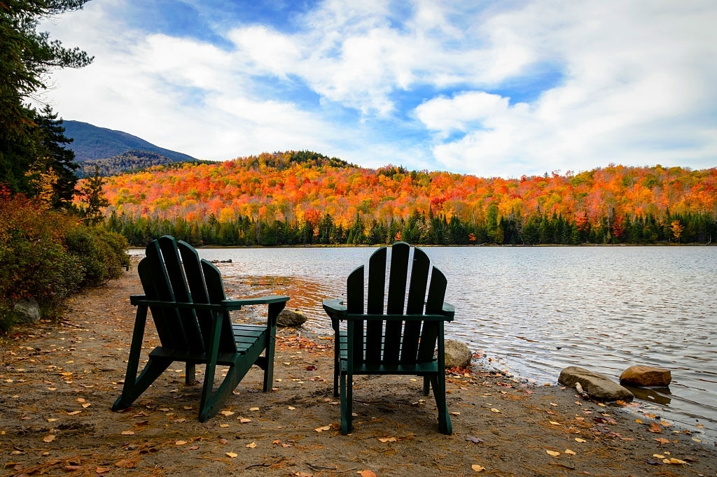 Adirondacks known for its nature beauty in New York