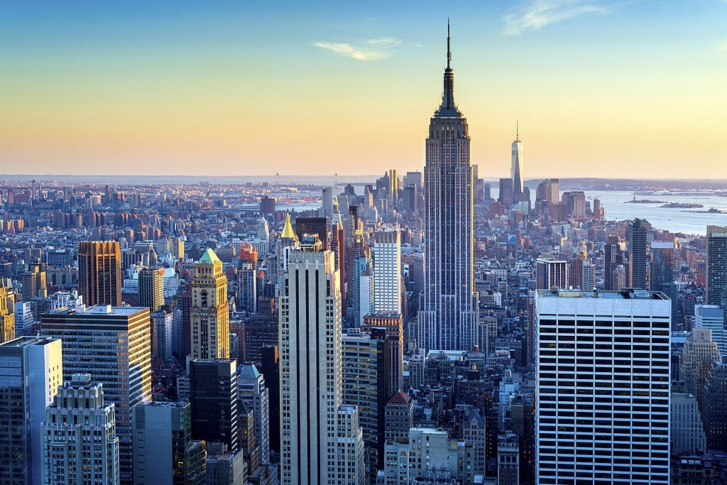 Empire state buildings are most famous place in New York City