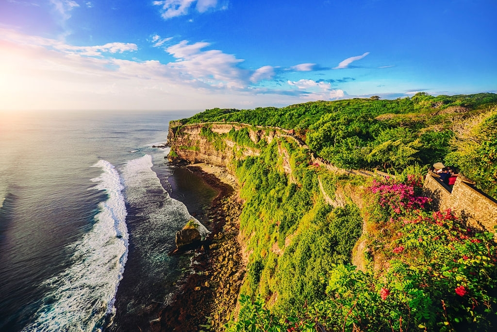 The temple of Uluwatu is no doubt one of the best places to visit in Bali.