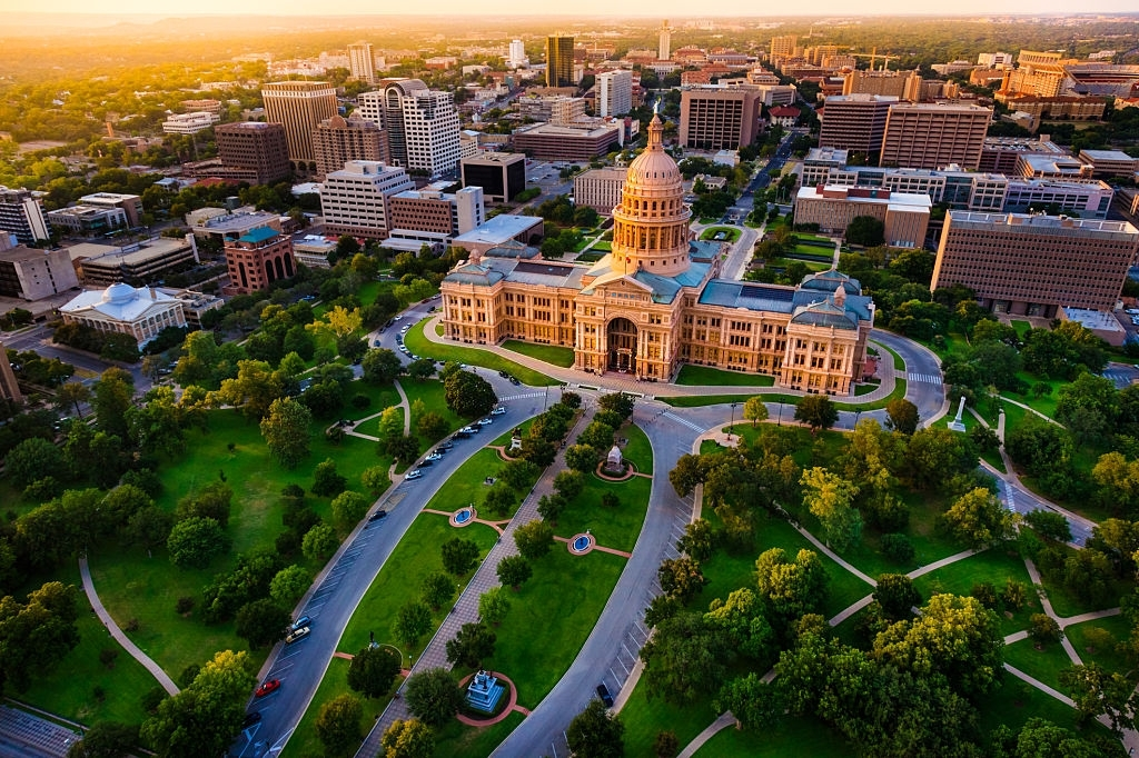 Austin is the best places to visit in Texas