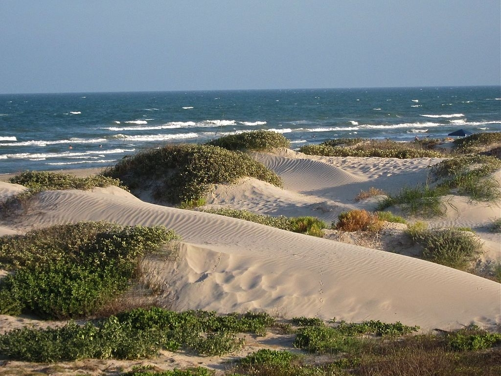 Padre Island is one of the best places to visit in Texas