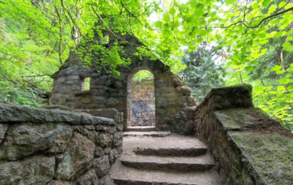 Witch Castle is one of the top attractions in Portland and Forest Park