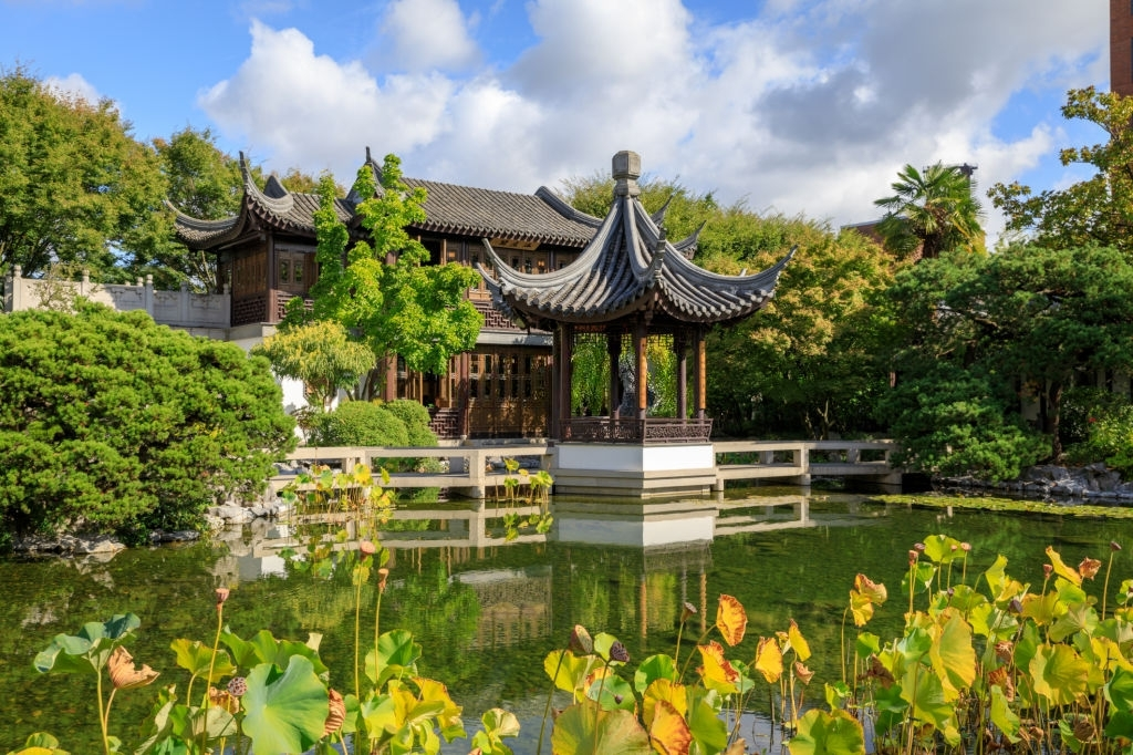 Lan Su Chinese Garden of Portland
