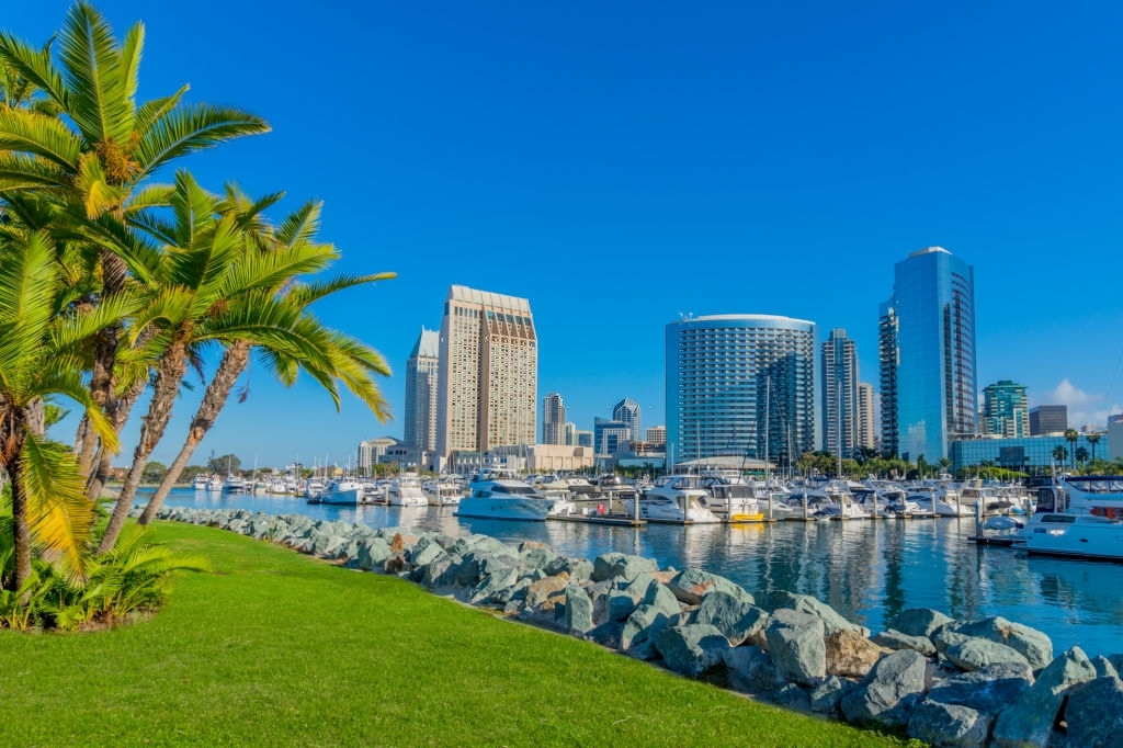 Best destination in California for tourists is San Diego