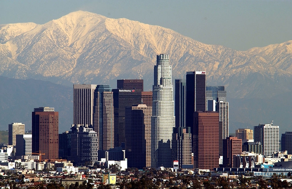 Los Angeles is one of the famous places to visit in California
