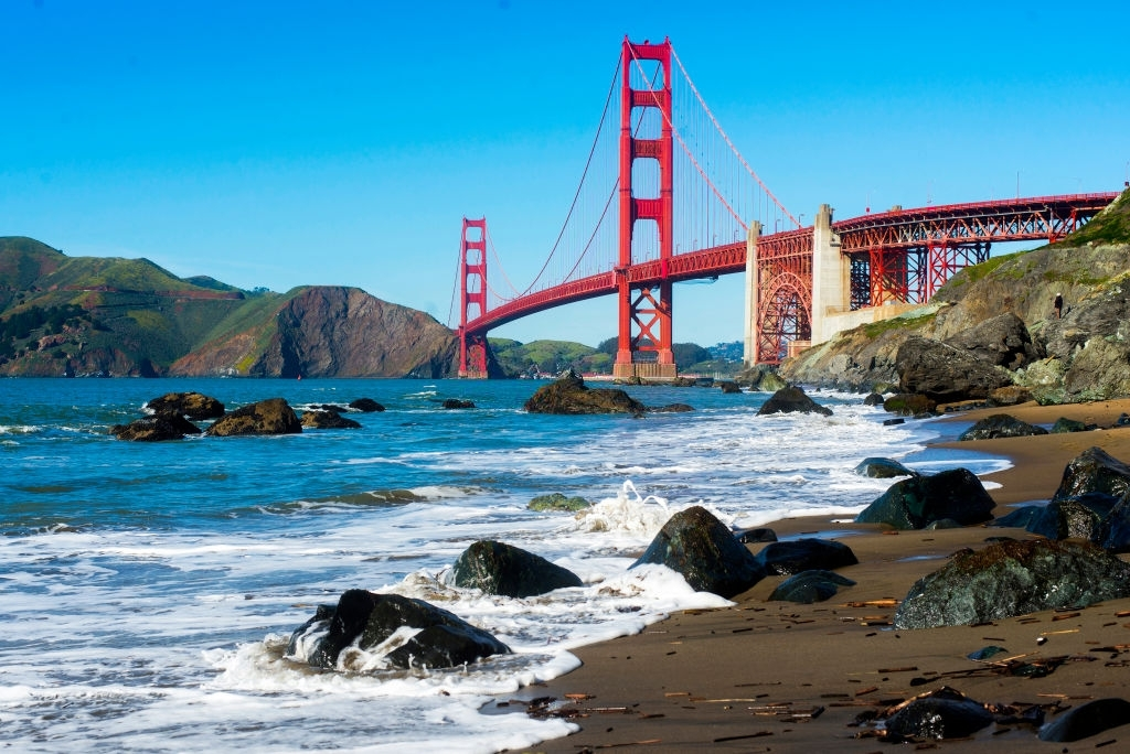 San Francisco is one of the best places to visit in California